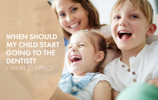 my child's first dental visit what age should i take my child to the dentist